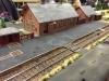 Guldager station som udstillet modulanlæg