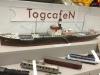 TogcafeeN: Bemærk de flotte håndlavede vogne i ætset messing. Spor N.