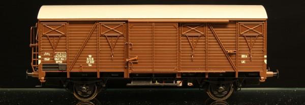 DSB Gs 42532 Brun med sølvfarvet tag