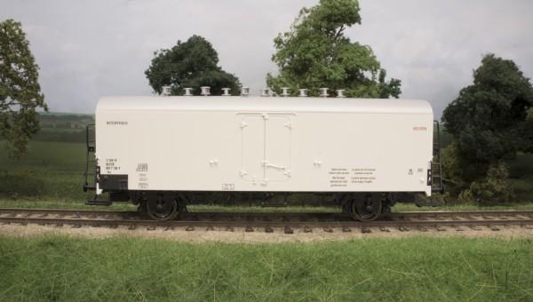 34075 Kølevogn/Kühlwagen, DSB Ics 11 RIV-IF 86 DSB 807 7 136-7, hvid, INTERFRIGO, Epo. IV