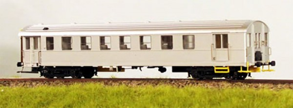 Prøvestøbning af DSB CLS - kombineret person - og pakvogn